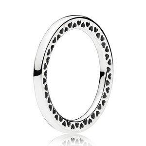 🍓Pandora Classic Hearts of PANDORA Ring